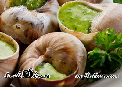 Равлики по бургундськи від Snails House